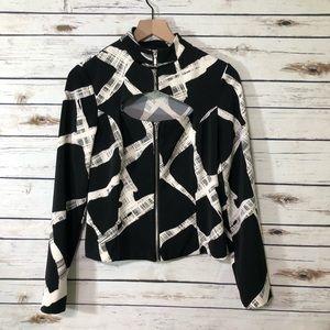 Metrostyle zipper jacket / size 6